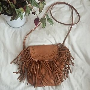 Lucky Brand Tan leather purse
